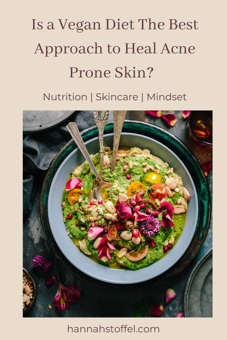 vegan diet for acne prone skin #clearskin #clearskindiet #acne #vegandiet